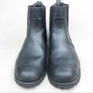 SIZE 10 U.S.Timberland Chelsea Boots Black Leather